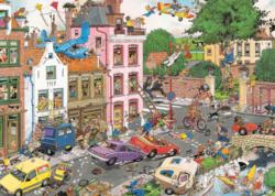 Friday the 13th Cartoons Jigsaw Puzzle