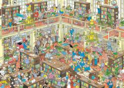 The Library Wasgij Jigsaw Puzzle