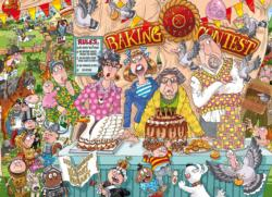 Wasgij #23: The Bake Off Food and Drink Jigsaw Puzzle