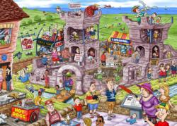 Wasgij Back To #2: 14th Century Castle Wasgij Jigsaw Puzzle
