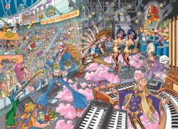 Wasgij Destiny 16:  Old Time Rockers Music Jigsaw Puzzle