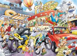 Wasgij Imagine #2: If the wheel… - Scratch and Dent Wasgij Jigsaw Puzzle