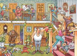 Wasgij Imagine 3: Slumber Party Domestic Scene Jigsaw Puzzle
