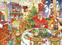 Wasgij Christmas 13: Turkey's Delight Wasgij Jigsaw Puzzle