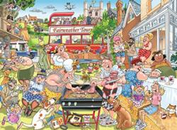 WASGIJ Mystery #15 A Typical British BBQ Wasgij Jigsaw Puzzle