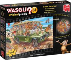 Wasgij Original 31: Safari Surprise! - Scratch and Dent Africa Jigsaw Puzzle