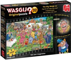 Wasgij Original 32: The Big Weigh In Outdoors Jigsaw Puzzle