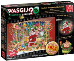 Wasgij Christmas 15: Santa's Unexpected Delivery! Christmas Jigsaw Puzzle