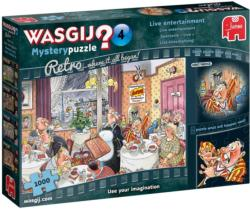 Wasgij Mystery 4: Live Entertainment Food and Drink Jigsaw Puzzle