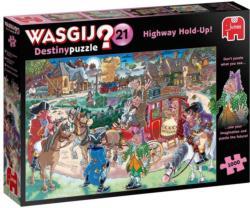Wasgij Destiny 21: Highway Holdup Wasgij Jigsaw Puzzle