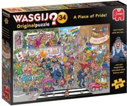 Wasgij Original 34: A Piece of Pride Wasgij Jigsaw Puzzle