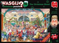 Wasgij Christmas 16: The Christmas Show! Christmas Jigsaw Puzzle