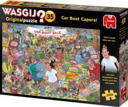 Wasgij Original 35: Car Boot Capers Wasgij Jigsaw Puzzle
