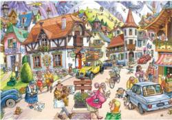 Wasgij Mystery 20: Mountain Mayhem Wasgij Jigsaw Puzzle