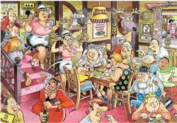 Wasgij Retro Mystery 5: Sunday Lunch Nostalgic / Retro Jigsaw Puzzle