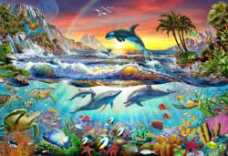 Paradise Cove Sunrise / Sunset Jigsaw Puzzle