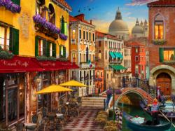 Venice Café - Scratch and Dent Italy Jigsaw Puzzle