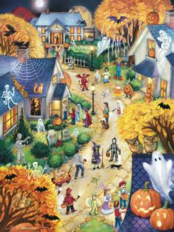 Halloween Town - Scratch and Dent Halloween Jigsaw Puzzle