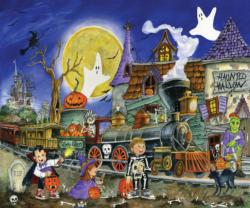 Spooky Express Halloween Jigsaw Puzzle