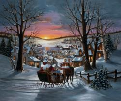 Peace on Earth Snow Jigsaw Puzzle