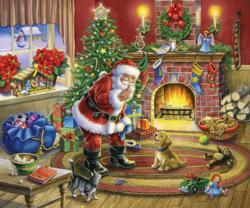 No Barking Santa Jigsaw Puzzle