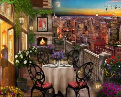 New York Evening Sunrise / Sunset Jigsaw Puzzle