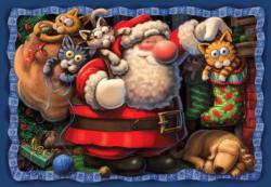 Purr-fect Gift Jigsaw Puzzle Christmas Jigsaw Puzzle