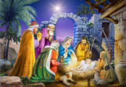 Joyous Night Jigsaw Puzzle Christmas Jigsaw Puzzle