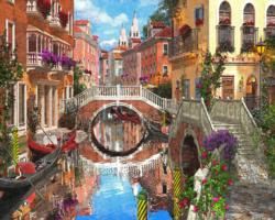 Venetian Waterway - Scratch and Dent Italy Jigsaw Puzzle