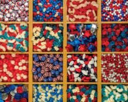 Patriotic Candy Food and Drink Jigsaw Puzzle