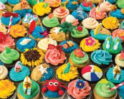 Summer Cupcakes Food and Drink Jigsaw Puzzle