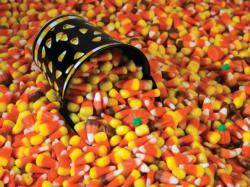 Candy Corn Sweets Impossible Puzzle