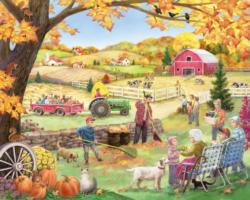 Countryside Autumn Fall Jigsaw Puzzle