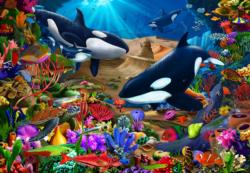 Wondrous Ocean Children's Jigsaw Puzzle Fish Children's Puzzles