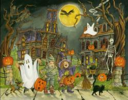 Little Goblins Halloween Jigsaw Puzzle