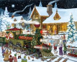 Santa's Express Winter Jigsaw Puzzle