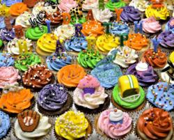 Birthday Cupcakes Sweets Jigsaw Puzzle