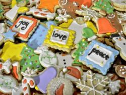 Christmas Cookies Sweets Jigsaw Puzzle