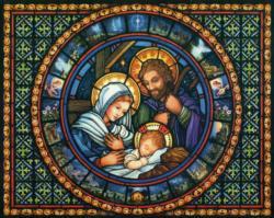 Holy Family Christmas Jigsaw Puzzle