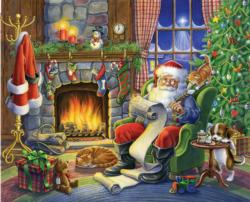 Naughty or Nice Christmas Jigsaw Puzzle