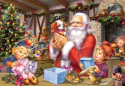 Santa & Friends Domestic Scene Children's Puzzles