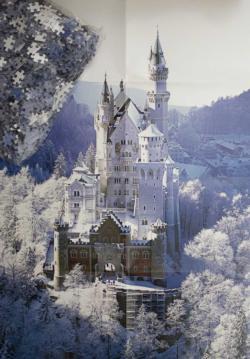 Neuschwanstein Snow Jigsaw Puzzle