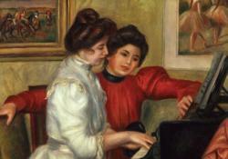 Yynonne Et Christine Lerolle Au Piano Music Jigsaw Puzzle