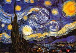 Starry Night Van Gogh Starry Night Jigsaw Puzzle