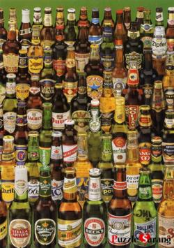 Beer Collection Adult Beverages Impossible Puzzle