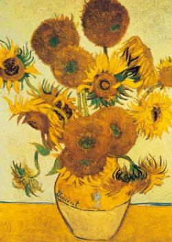 Van Gogh - The Sunflower Sunflower Jigsaw Puzzle