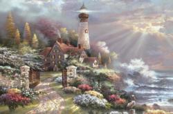 Coastal Splendor Seascape / Coastal Living Jigsaw Puzzle