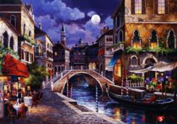 Streets Of Venice Italy Jigsaw Puzzle