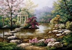 Gazebo Lakes / Rivers / Streams Jigsaw Puzzle