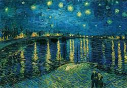 Star Night Phone River Van Gogh Starry Night Jigsaw Puzzle